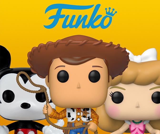 Figuras Funko cine, videojuegos, música, comics, series