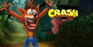 Merchandising Crash Bandicoot